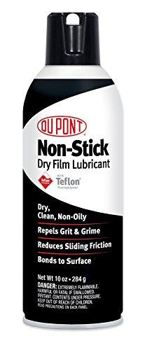 DuPont Teflon Non-Stick Dry-Film Lubricant Aerosol Spray 10 Oz