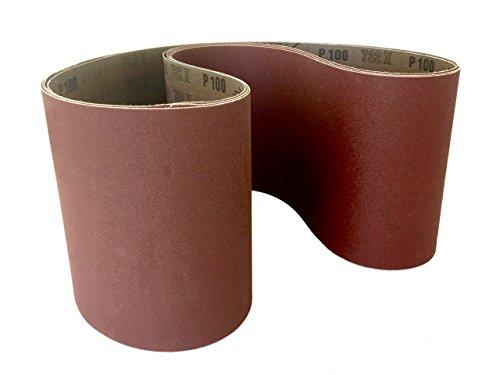 Sanding Belts 6 X 48 Aluminum Oxide Cloth Sander Belts 2 Pack 180 Grit