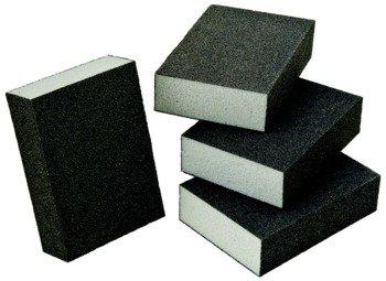 Abrasive Sponge Block Aluminum Oxide Foam 100 Grit
