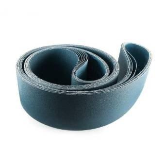 6 X 80 Inch 24 Grit Metal Grinding Zirconia Sanding Belts 2 Pack