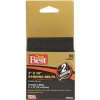 Do it Best Sanding Belt 3X18 80G SANDING BELT