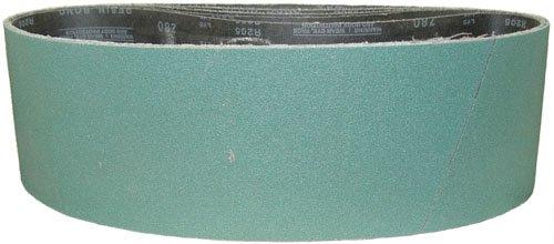 Magnate Z4X80S12 4 x 80 Sanding Belt - Zirconia Alumina - 120 Grit Y Weight 1 BeltsPkg
