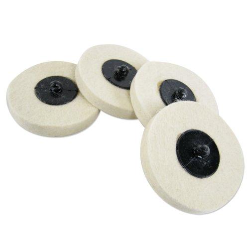 20 New 2 Neiko Polish Polishing Buffing Disc Wheel Set