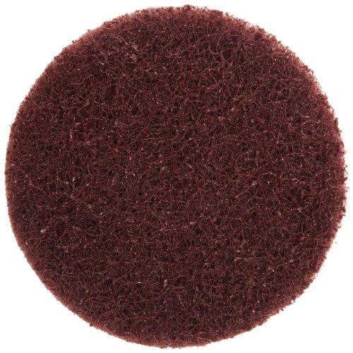 Merit Type III Abrasotex PowerLock Nonwoven Abrasive Buffing Disc Nylon Backing Waterproof 1-12 Diameter Grit Medium  Case of 25