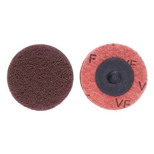 Merit Type III Abrasotex PowerLock Nonwoven Abrasive Buffing Disc Nylon Backing Waterproof 2 Diameter Grit Very Fine  Case of 50