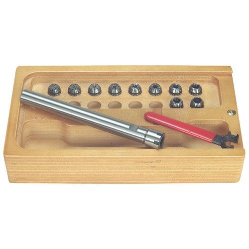 T&O ER-16 Mini milling drilling extension set - Taper 34 Straight Shank Length  6 COLLET SIZE ER-16