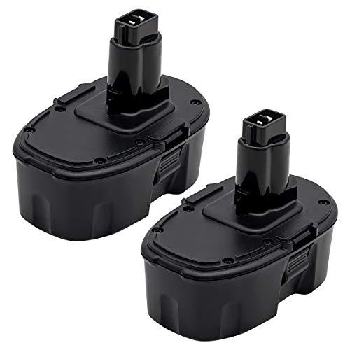 ROALLY 2 Packs 18V 36Ah Ni-MH Battery Replacement for Dewalt 18 Volt XRP DC9096 DC9098 DC9099 DE9098 DE9503 DW9095 DW9096 DW9098 Cordless Power Tools 2 Packs