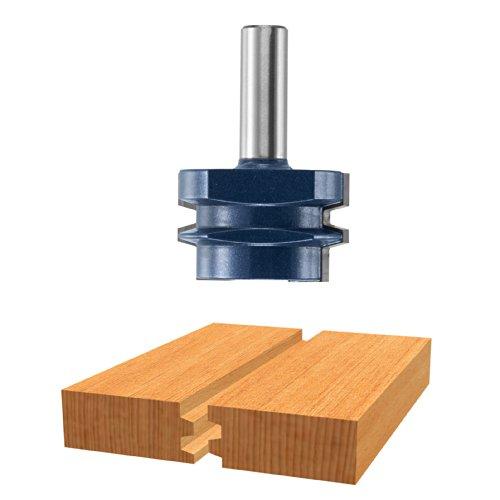 Bosch 84505M 1-78-Inch Diameter 1-332-Inch Cut Carbide Tipped Reversable Glue Joint Router Bit 12-Inch Shank