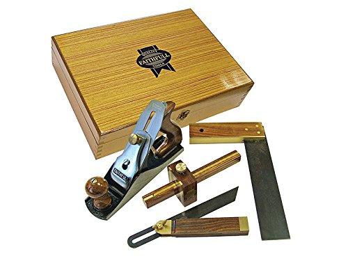 Faithfull Plane Woodworking Set 4 Piece