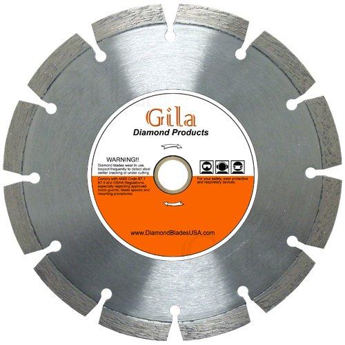 GilaTools 10 Segmented Concrete Brick Block Stone Masonry General Purpose Diamond Cutting Blade