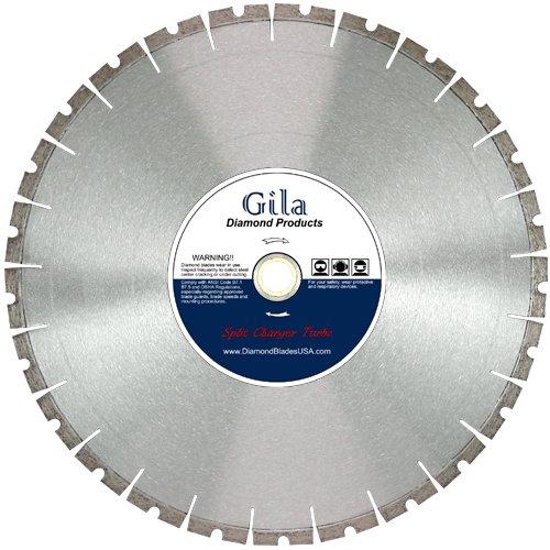 GilaTools 14 Split Turbo Segmented Cured Concrete Brick Block Masonry General Purpose Diamond Cutting Blade 1 Arbor
