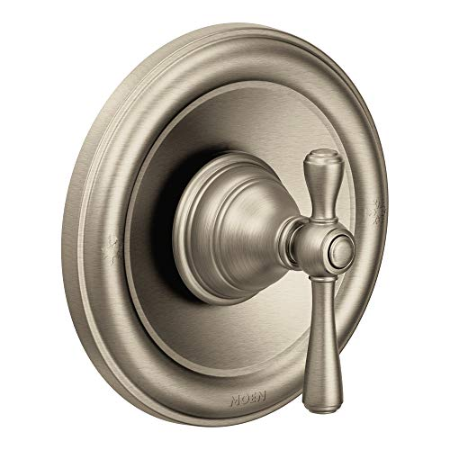 Moen T3111BN Kingsley Moentrol Tub Shower Trim Kit Valve Required Brushed Nickel