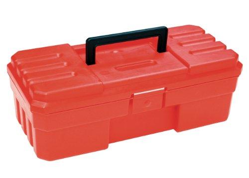 Akro-Mils 9912 12-Inch ProBox Plastic Tool Box Red
