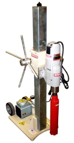 EDCO 97100E Concrete Core Drill Rig 48-Inch 20 Amp - No Vacuum Pump