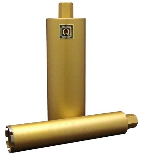 GilaTools 9 Premium-plus Segmented Wet Concrete Drilling Diamond Core Bit 1-14-7 Thread