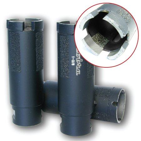 2 Super Dry Diamond Core Drill Bit - Granite Marble Concrete Hole Saws