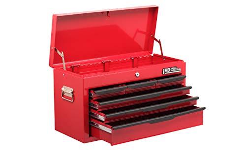 Hilka G208c6bbs Bbs Heavy Duty 6 Drawer Tool Chest Red