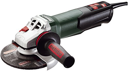 Metabo - 6 Angle Grinder - 9 600 Rpm - 105 Amp WNon-Lock Paddle 600418420 12-150 Quick Professional Angle Grinders