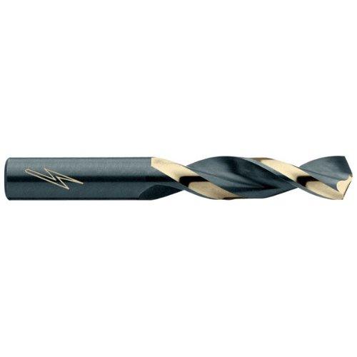 TRIUMPH High Speed Steel 135 DegreesSplit Point Screw Machine Length Twist Drills - Drill Point Angle Tool Material HSS Drill Type Mechanics Length Overall Length 3-18 Point Sharpening Type Split Point Size 38 pack of 6