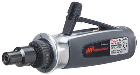 Ingersoll Rand Revolution Straight Die Grinder - 14In Inlet 15 CFM 25000 RPM  90 PSI Model 325SC4
