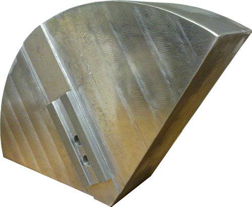 USST 21-RKT-12400A Aluminum 6061 T6 Round Chuck Jaws for B12 12 CNC Lathe Chucks 4 Tall Set of 3 Pieces