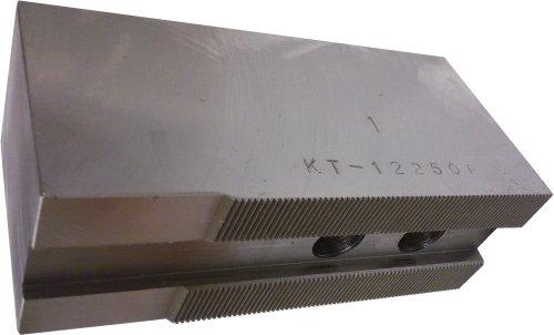 USST KT-12250F Steel Flat Soft Chuck Jaws for 12 CNC Lathe Chucks 25 Tall Set of 3 Pieces