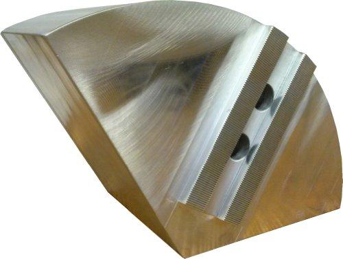 USST RKT-15600A Aluminum 6061 T6 Round Chuck Jaws for B15 15 CNC Lathe Chucks 6 Tall Set of 3 Pieces