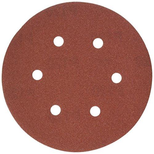 DEWALT DW4333 6-Inch 6-Hole 120-Grit Hook and Loop Random OrBit Sandpaper 5-Pack