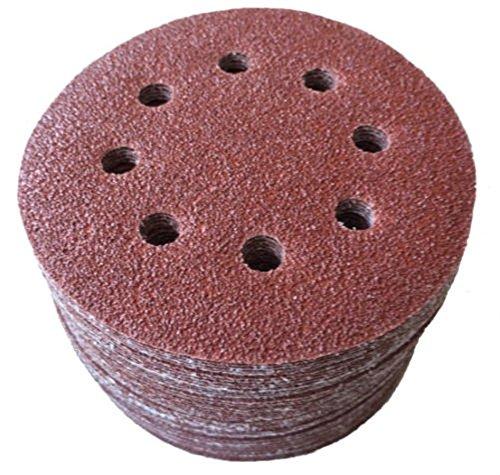 Moshine 50pcs 5 8 Hole 2000 Grit Mix Sanding Disc Random Orbit Sandpaper Velcro Sander