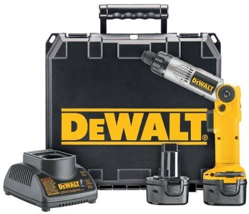 DeWALT DW920K-2 Heavy-Duty 14 6mm 72V Cordless Two-Position Screwdriver Kit