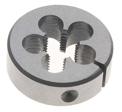 38-18 NPT Round Pipe Die 1-12 Outside Diameter - High Speed Steel - National Pipe Taper