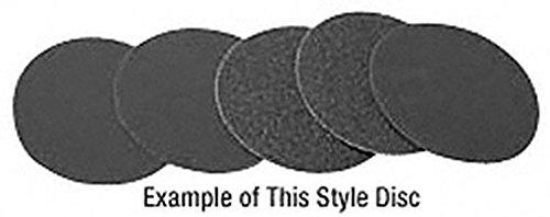 CRL Warrior 4 600 Grit Hook Loop Silicone Carbide Discs