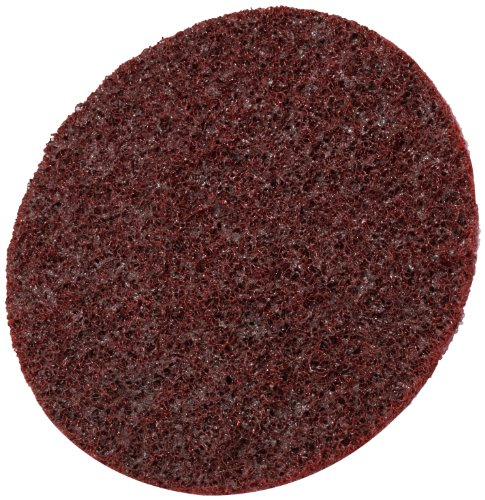 Scotch-BriteTM Surface Conditioning Disc Hook and Loop Attachment Aluminum Oxide 4-12 Diameter Medium Grit Pack of 10