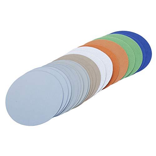 Water Grinding Abrasive Paper Grit 30005000700010000 for Flocking Sandpaper Pad Hook Loop Sanding Disc Electric Grinder Accessory 125mm 5 inches 20pcsLot