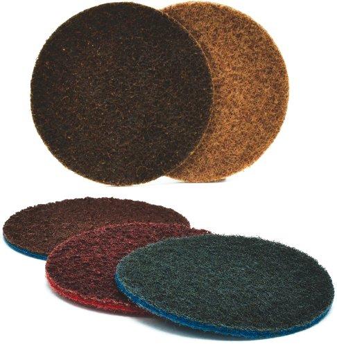 Arc Abrasives 62018 Grade A VFN Surface Conditioning Velcro Discs Blue 5-Inch Diameter 10-Pack