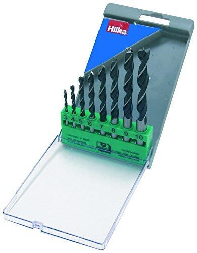 Hilka 49900008 Wood Boring Drill Bit Set by Hilka