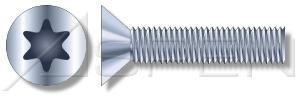 1000pcs 516-18 X 1-12 Machine Screws Flat 6-Lobe Drive Steel Zinc Plated Standard Countersink Ships FREE in USA