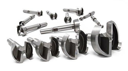 Colt Riss Tools 10790202 EcoCut PLUS Complete Forstner Drill Bit SET 38 to 2-38 32 bits