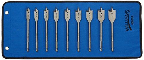 Bahco 9529-SET Spade Bit Set 9 Piece 12 to 1