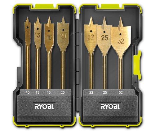 Ryobi Rak-07Sp Spade Bit Set Of 7