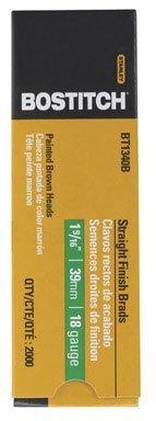 BOSTITCH BT1340B 1-916-Inch 18-Gauge Brad Nails 2000-Per Box