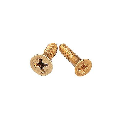 Solid Brass Screws - 2x12 25 per Pack