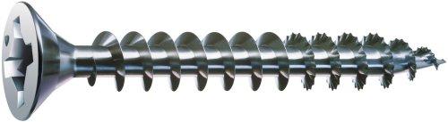 SPAX 8 x 2-12in Flat Head Unidrive Zinc Coated Screw - 1 LB Box