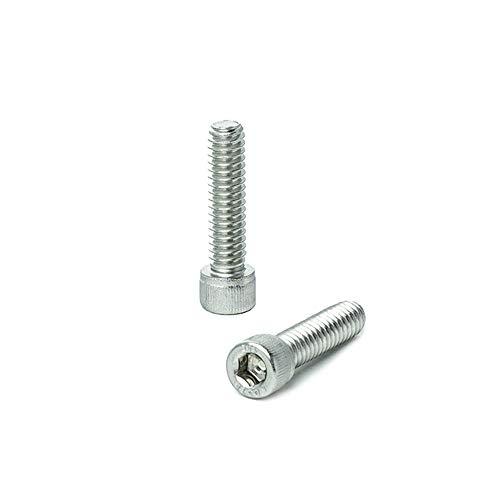 14-20 x 1 Socket Head Cap Screws Full Thread Allen Socket Drive Stainless Steel 18-8 Bright Finish Quantity 25 Pieces by Bridge Fasteners