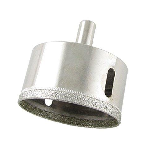 Fly Shop Silver Tone Glass Cutting Diamond Hole Saw Tool 50mm