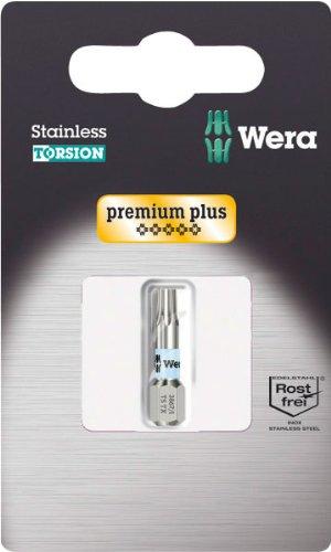 Wera 38671 TS SB Stainless Steel Insert Bit Torx 25 Pack of 5