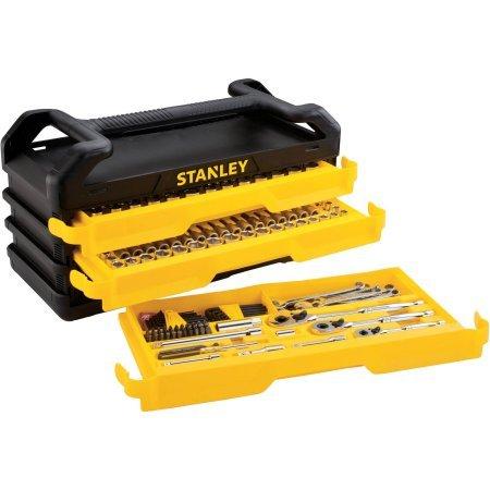 Stanley Full Polish 235pc Mechanics tool Set with 3-Drawer Chest