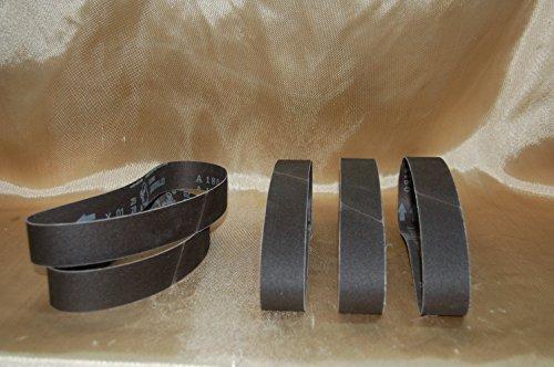NEW 180 Grit Sandpaper Aluminum Oxide Sanding Belt for BBS-40A Polisher Grinder 5 Pack - Brand New - BLUEROCK Â Tools