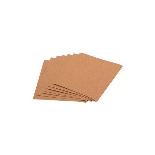10 Piece 9 X 11 Garnet Sandpaper Assortment 24 50 100 and 150 Grit
