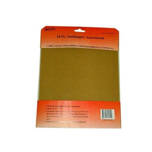 8 Pc Waterproof Sandpaper Assortment